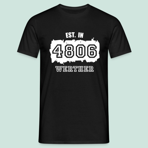 Established in 4806 Werther - Männer T-Shirt