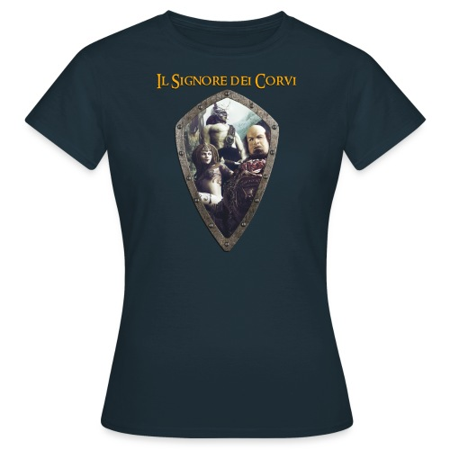 Maglia Donna Art Signore dei Corvi - Maglietta da donna