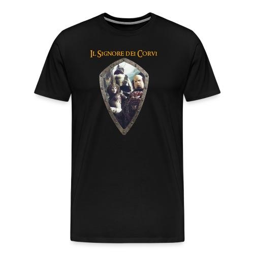 Maglia Cover Art Signore dei Corvi - Maglietta Premium da uomo