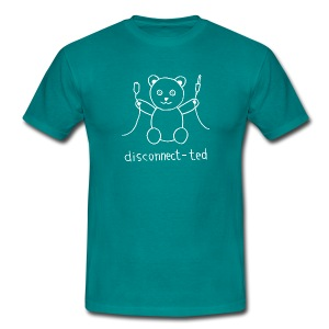 disconnect-ted - Men's T-Shirt
