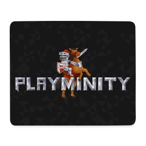 PlayMinity Mousepad (Black) - Mouse Pad (horizontal)