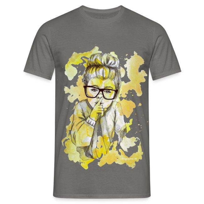Mädchen mit Nerdbrille by carographic