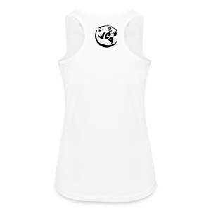 Black Panther Women's White Sports Linen - Women's Breathable Tank Top