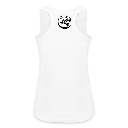 Black Panther Women's White Sports Linen - Women's Breathable Tank Top