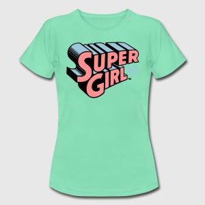 Supergirl Logo Original - T-shirt dam