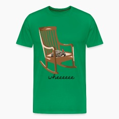 turtle on rocking chair T-Shirts
