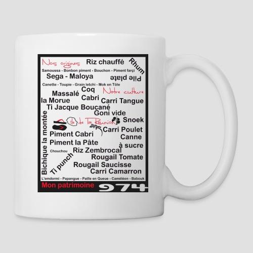 Tasse 974 ker kreol kosement - Mug blanc