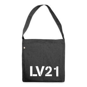 LV21 Shoulder Bag - LV21 Text Logo - Shoulder Bag made from recycled material