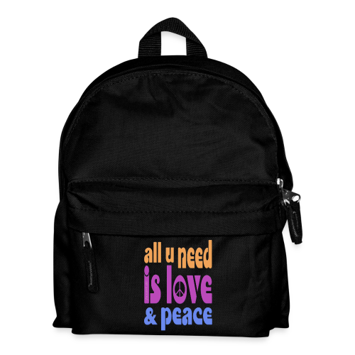 love and peace - Kinder Rucksack