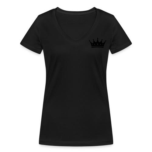 King's Woman V T-Shirt - Frauen Bio-T-Shirt mit V-Ausschnitt von Stanley & Stella
