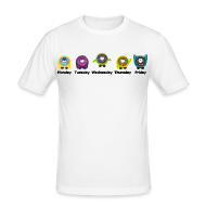 Wochentage Monster T-Shirts