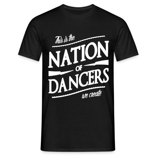 Naród Tancerzy. Biel - Koszulka męska