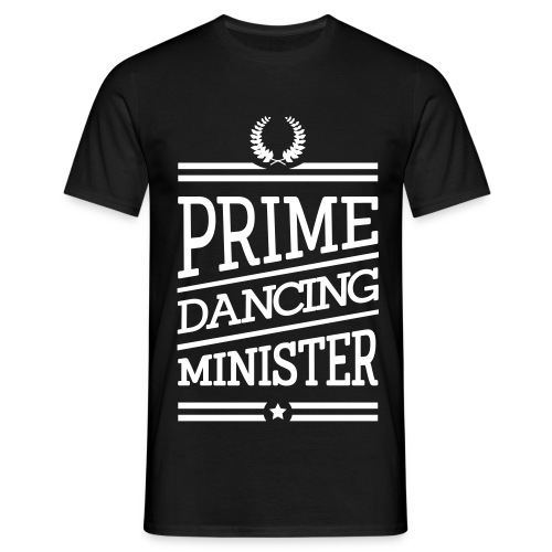 Minister Tańca. Biel - Koszulka męska