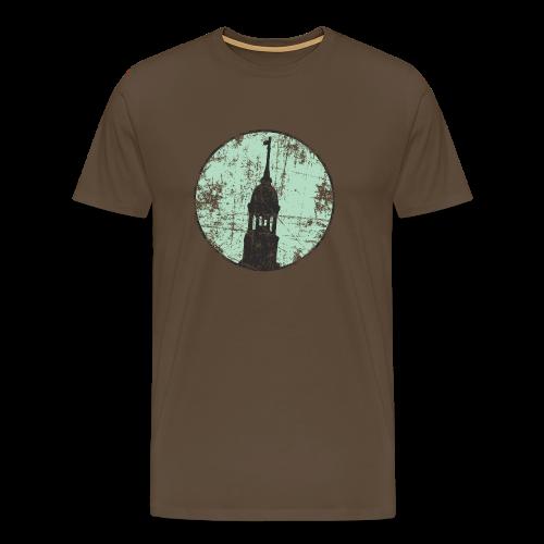Hamburg Michel Circle (Vintage Grün) S-5XL T-Shirt - Männer Premium T-Shirt