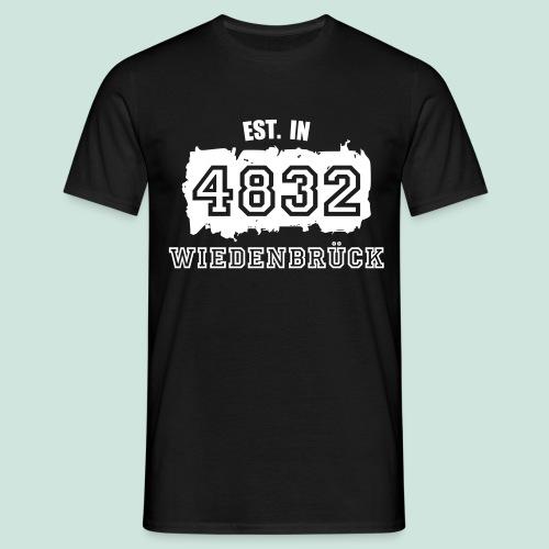Established in 4832 Wiedenbrück - Männer T-Shirt