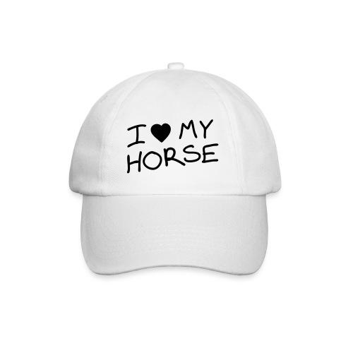 Cappy - I Love my Horse - Baseballkappe