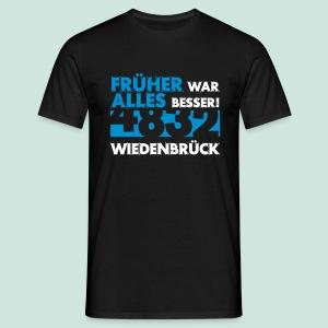 4832 Wiedenbrück Früher war alles besser - Männer T-Shirt