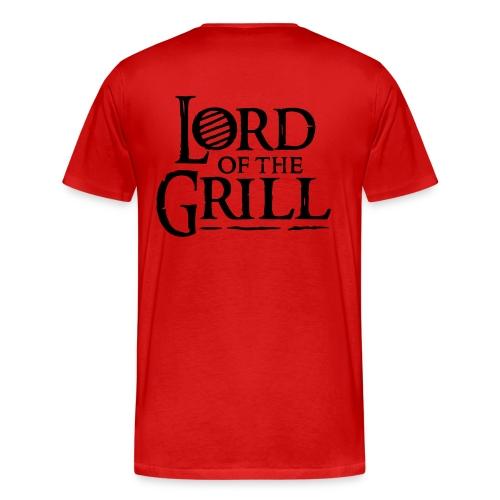 Lord of Grill Shirt - Männer Premium T-Shirt