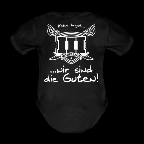 Baby Body III. Kompanie - Baby Bio-Kurzarm-Body