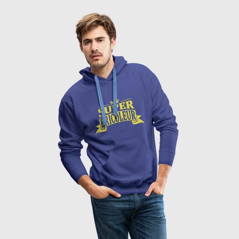 Super Bricoleur Sweat-shirts - Sweat-shirt à capuche Premium pour hommes