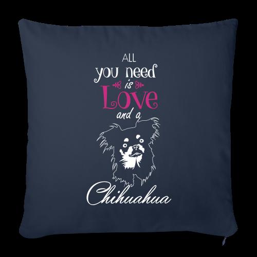 Chihuahua auf schwarz