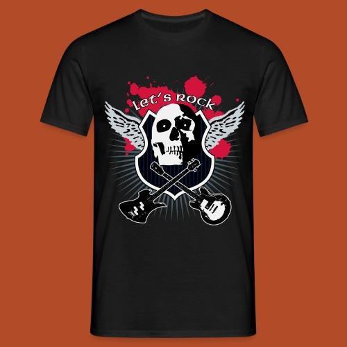 Camiseta Let´s Rock - Camiseta hombre