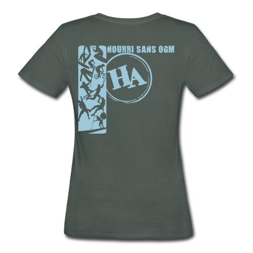 T shirt F Nourri sans OGM - T-shirt bio Femme
