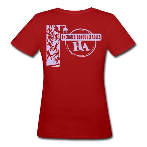 T shirt F Energies - T-shirt bio Femme