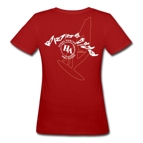 T-shirt F Funboard - T-shirt bio Femme
