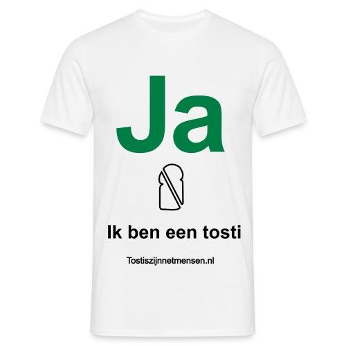 Ja - man (zwart/groen) - Mannen T-shirt