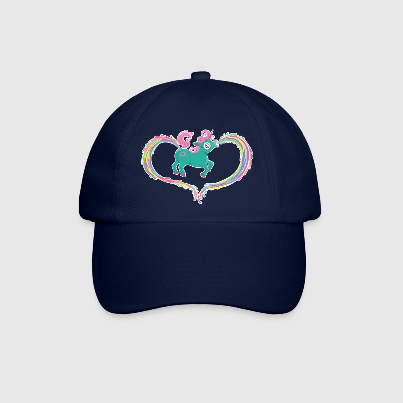 Blue/blue Unicorn Caps & Hats - Baseball Cap