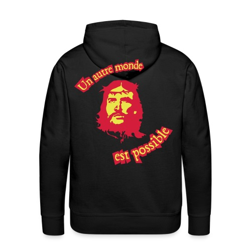 Jésus Révolution - Sweat-shirt à capuche Premium pour hommes