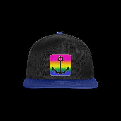 Anker Regenbogen - Snapback Cap