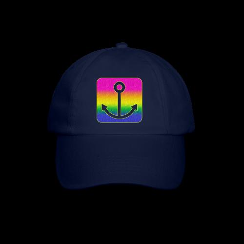 Anker Regenbogen - Baseballkappe