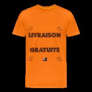 Tee shirts ~ Tee shirt Premium Homme ~ LIVRAISON GRATUITE - Jeux de Mots Francois Ville