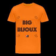 Tee shirts ~ Tee shirt Premium Homme ~ Big Bijoux - Jeux de Mots Francois Ville