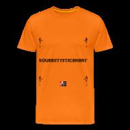 Tee shirts ~ Tee shirt Premium Homme ~ SOUBRETTETICEMENT - Jeux de Mots Francois Ville