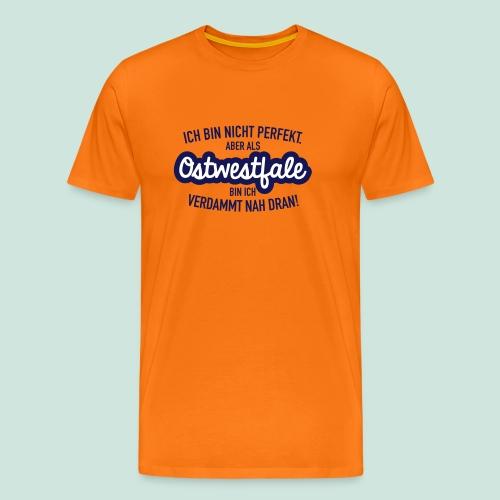 Nicht perfekt - Premium Shirt - Männer Premium T-Shirt