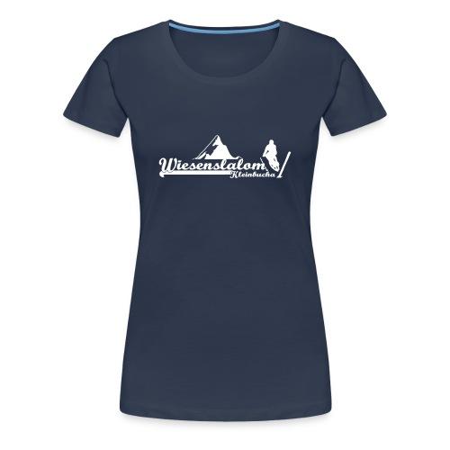 Wiesenslalom Kleinbucha  - Frauen Premium T-Shirt
