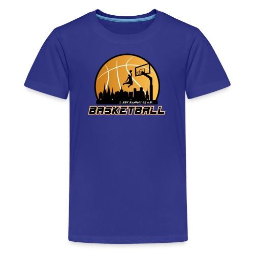 Teenager Premium T-Shirt mit Logo SSV Basketball - Teenager Premium T-Shirt