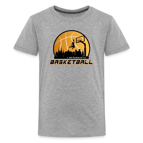 Teenager Premium T-Shirt mit Logo SSV Basketball - Teenager Premium T-Shirt