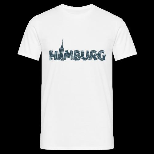 Hamburg Michel T-Shirt (Herren/Weiß) - Männer T-Shirt