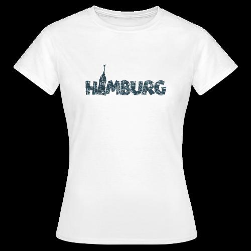 Hamburg Michel T-Shirt (Damen/Weiß) - Frauen T-Shirt