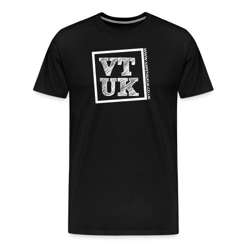 VTUK Logo Mens T-Shirt - Men's Premium T-Shirt