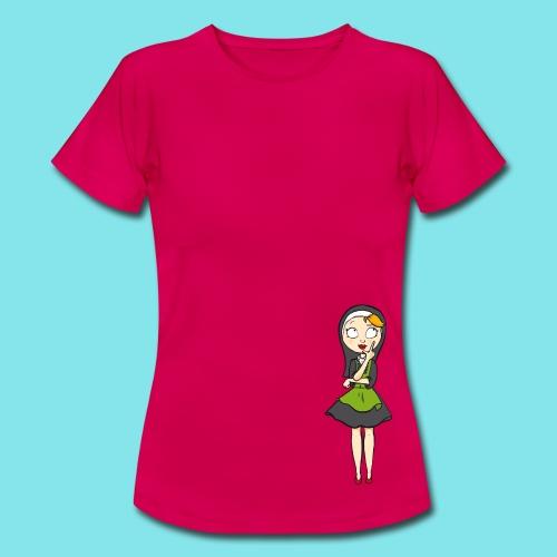 T-shirt Nadenken - Vrouwen T-shirt