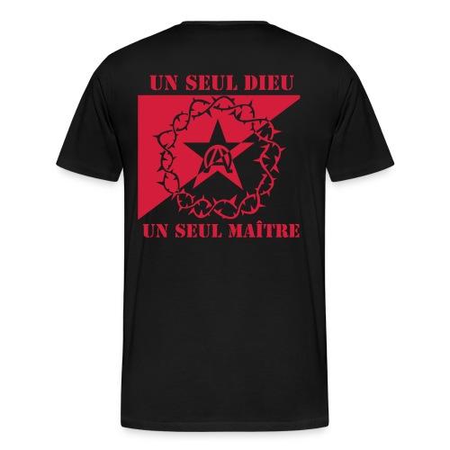Anarchrist Grande taille - T-shirt Premium Homme