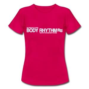 Body Rhythm Womens 'Succeed' T-Shirt (White Logo) - Women's T-Shirt