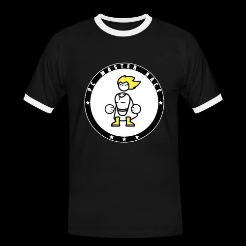 PC Master Race Emblem - Black (Men) - Men's Ringer Shirt