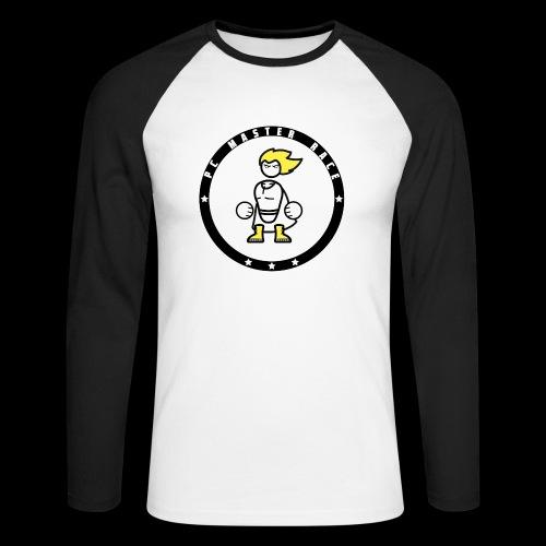 PC Master Race Baseball (Men) - Men's Long Sleeve Baseball T-Shirt