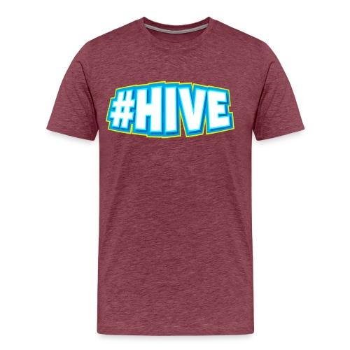 Men's #Hive Tee - Men's Premium T-Shirt